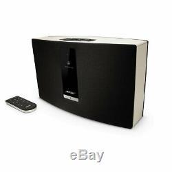 Système De Musique Wifi Portable Bose Soundtouch 412540, Noir Et Blanc Avec Télécommande