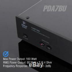 Système De Son Récepteur Audio Amplificateur De Cinéma Maison Avec Streming Sans Fil Bluetooth