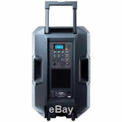 Système De Sonorisation Bluetooth Total Ion Total Pa Max, Microphone, Support Et Télécommande Sans Fil