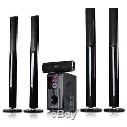 Système Stéréo Haute Puissance Accueil 5.1 Surround Sound Haut-parleurs Bluetooth Avec Télécommande