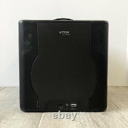 Tdk V513 Haut-parleur Sans Fil Bluetooth Sound Cube Pas De Télécommande