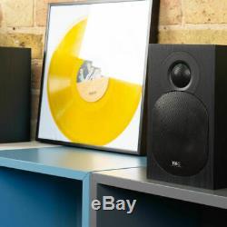 Tibo Plus 3.1 Bookshelf Actifs Compact Bluetooth Haut-parleurs Alimentés À Distance 2x55w
