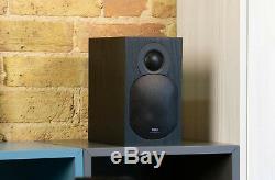 Tibo Plus 3.1 Bookshelf Actifs Haut-parleurs Alimentés Noir Télécommande Bluetooth Compacte