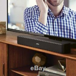 Tv 5 Bose Solo Soundbar Bluetooth Sound System Avec Universal Remote Control- Noir