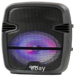 Twin 8 Bluetooth Wireless Speaker Parti Portable Stéréo Microphone Remote Stand