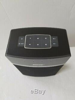 Véritable Bose Soundtouch 10 Multi-pièces Noir Avec Haut-parleur À Distance Blanc Officiel