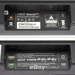Visio Smartcast 40 5.1 Barre De Son Système Sb4051-d5 2x Haut-parleurs Satellites, À Distance