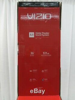 Vizio 5.1 Home Theater Sound System 36 Soundbar Sans Fil Subwoofer Arrière Surroun