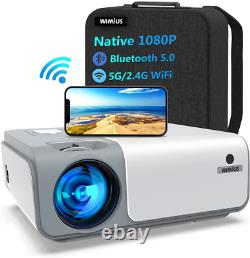 Wimius W1 Wifi Bluetooth Projecteur 8500l Full Native 1080p Smooth 5g Sans Fil