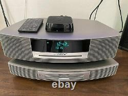 Wireless Bluetooth + Bose Wave Music System + 3 Disques Multi CD Changer, Remote