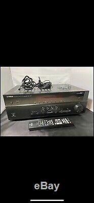 Yamaha Rx-v481 Av Récepteur Sans Fil Bluetooth Hdmi Natural Sound À Distance Bundle