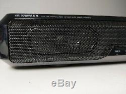 Yamaha Srt-1000 5.1 Surround Sound System Tv + Intégré + Subwoofers À Distance
